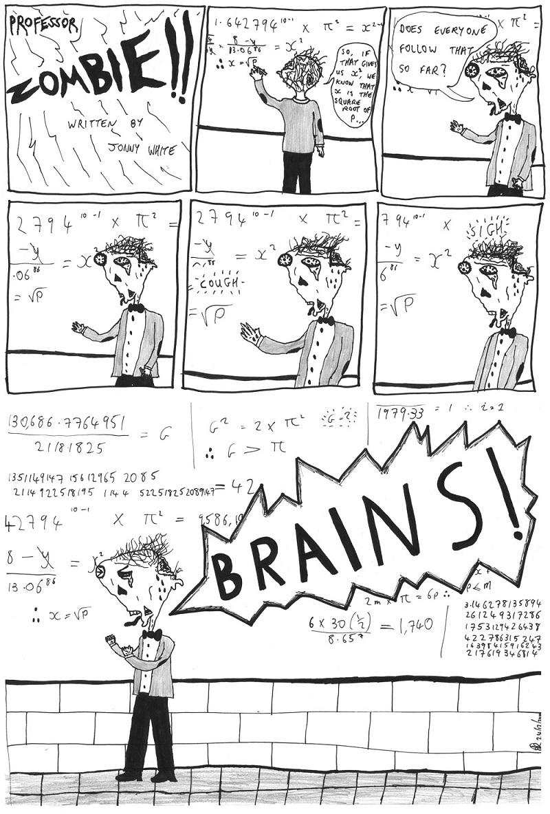 professor zombie