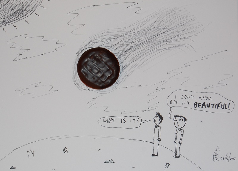 shooting jaffa cake