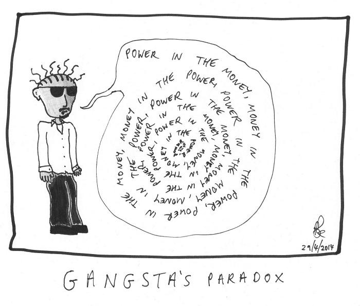 gangsta's paradox
